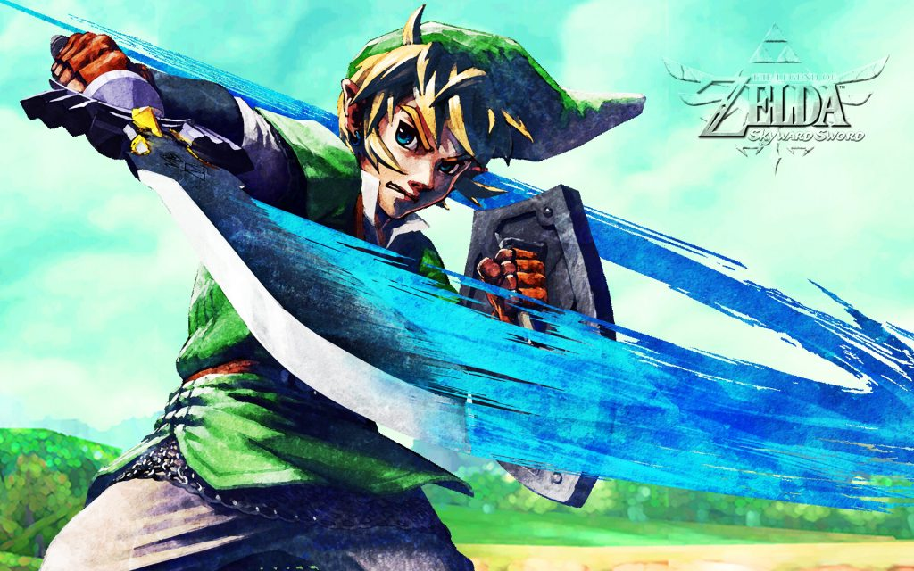 The Legend Of Zelda: Skyward Sword Widescreen Wallpaper