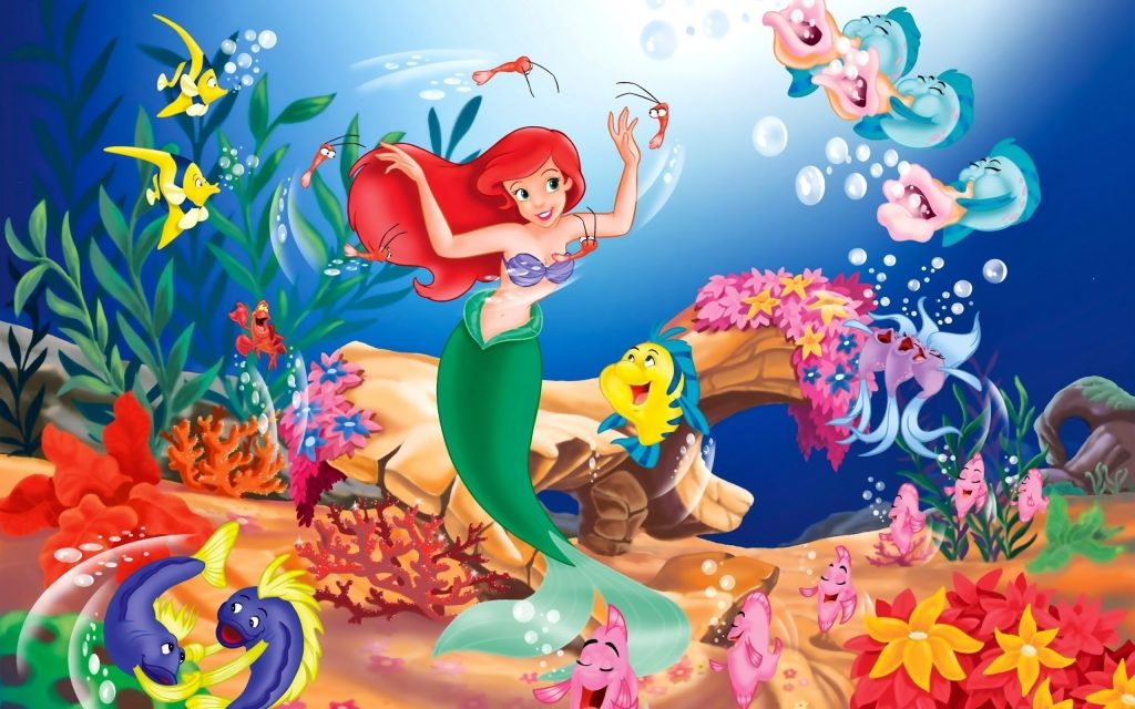 The Little Mermaid Widescreen Wallpaper