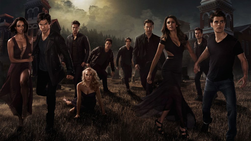The Vampire Diaries HD Wallpaper