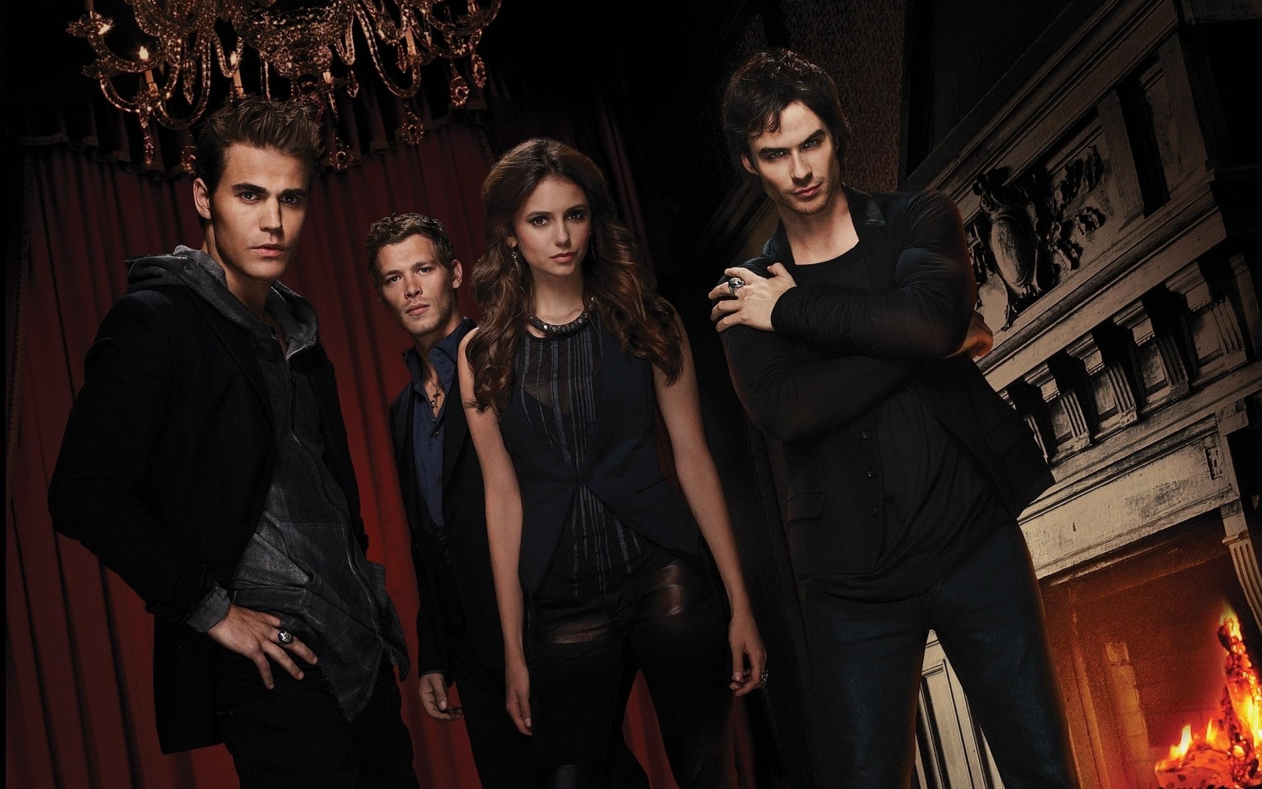 The Vampire Diaries HD Widescreen Wallpaper