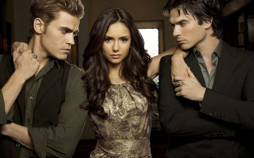 The Vampire Diaries HD Widescreen Wallpaper