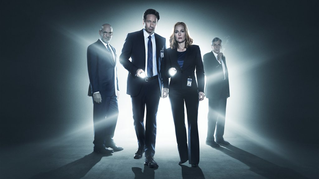The X-Files HD 4K UHD Background
