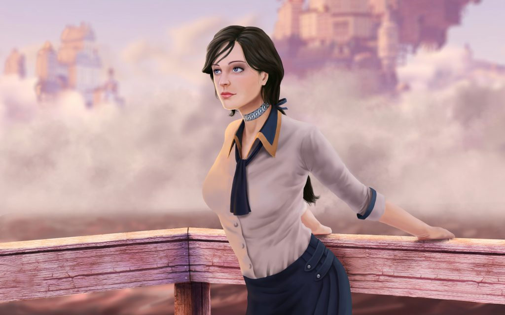 Bioshock Infinite Widescreen Wallpaper