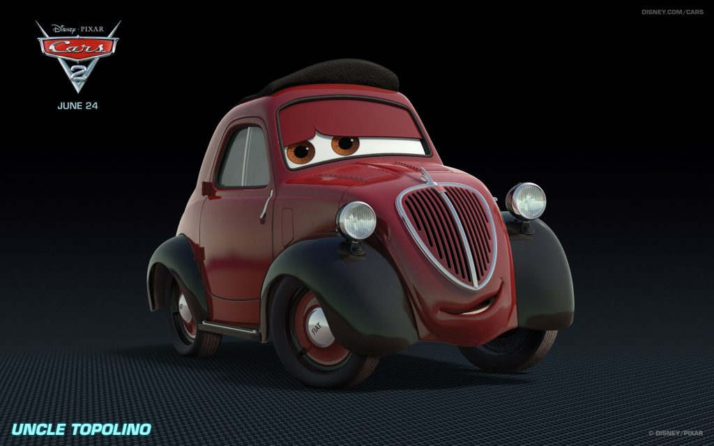 Cars 2 Widescreen Wallpaper