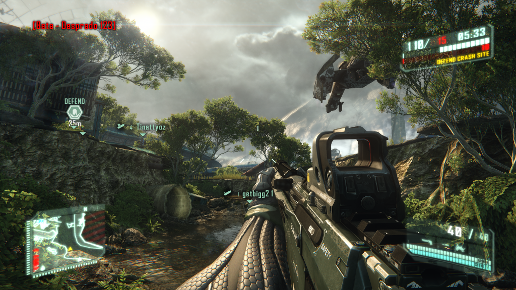 Crysis 3 Quad HD Background