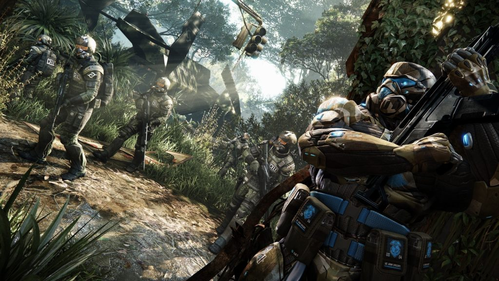 Crysis 3 Full HD Background