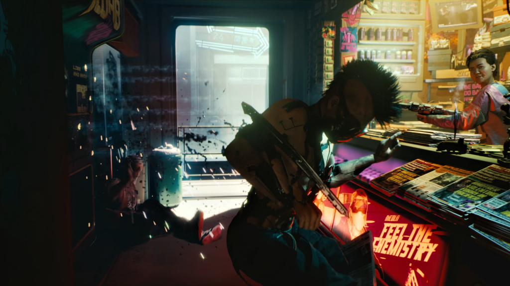 Cyberpunk 2077 4K UHD Wallpaper