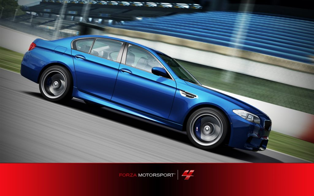 Forza Motorsport 4 Widescreen Wallpaper