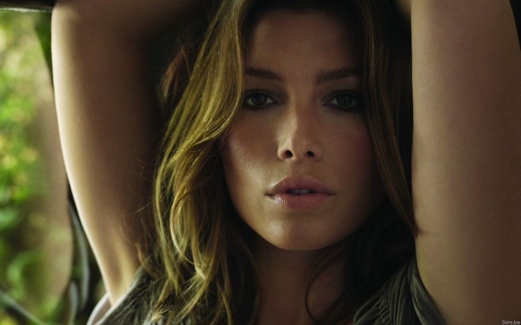 Jessica Biel HD Widescreen Wallpaper