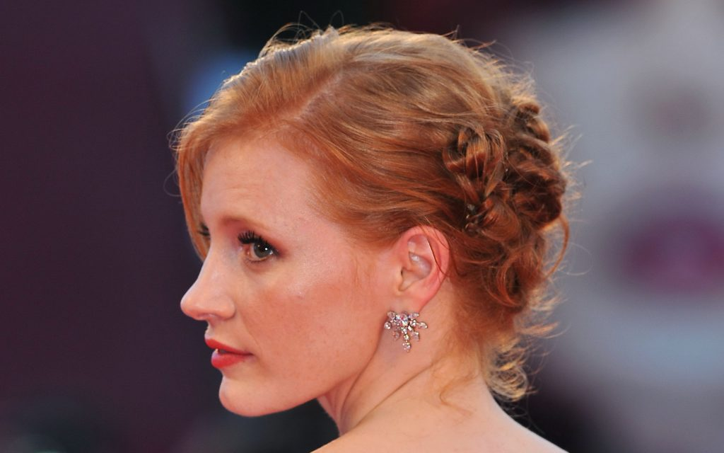 Jessica Chastain HD Widescreen Wallpaper