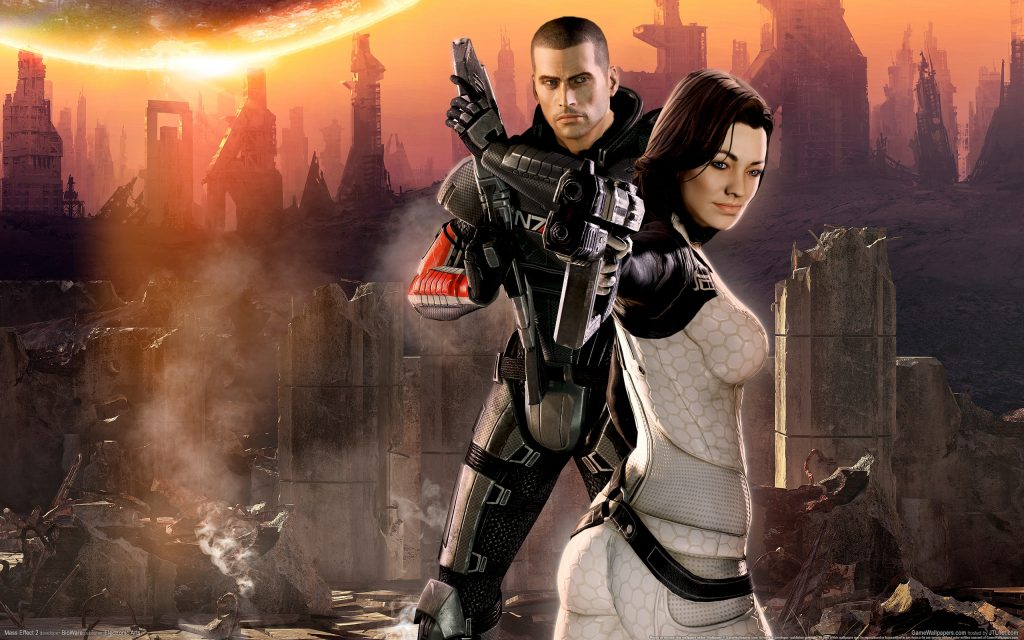 Mass Effect 2 Widescreen Wallpaper