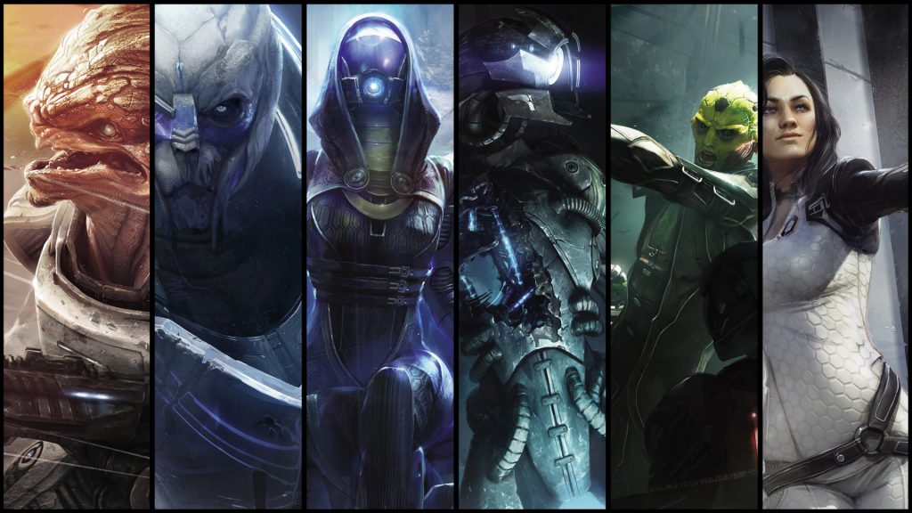 Mass Effect 2 Full HD Wallpaper