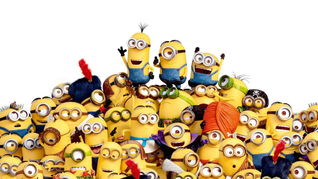 Minions Full HD Background