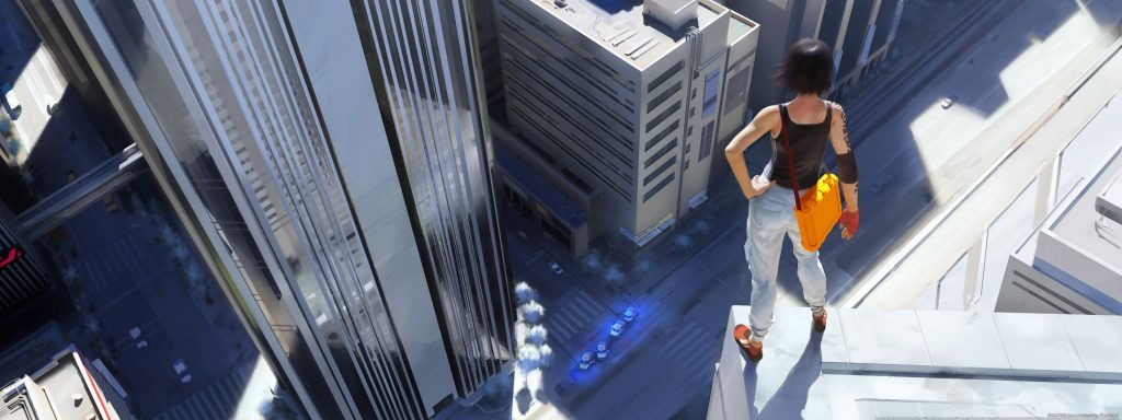 Mirror's Edge HD Dual Monitor Wallpaper