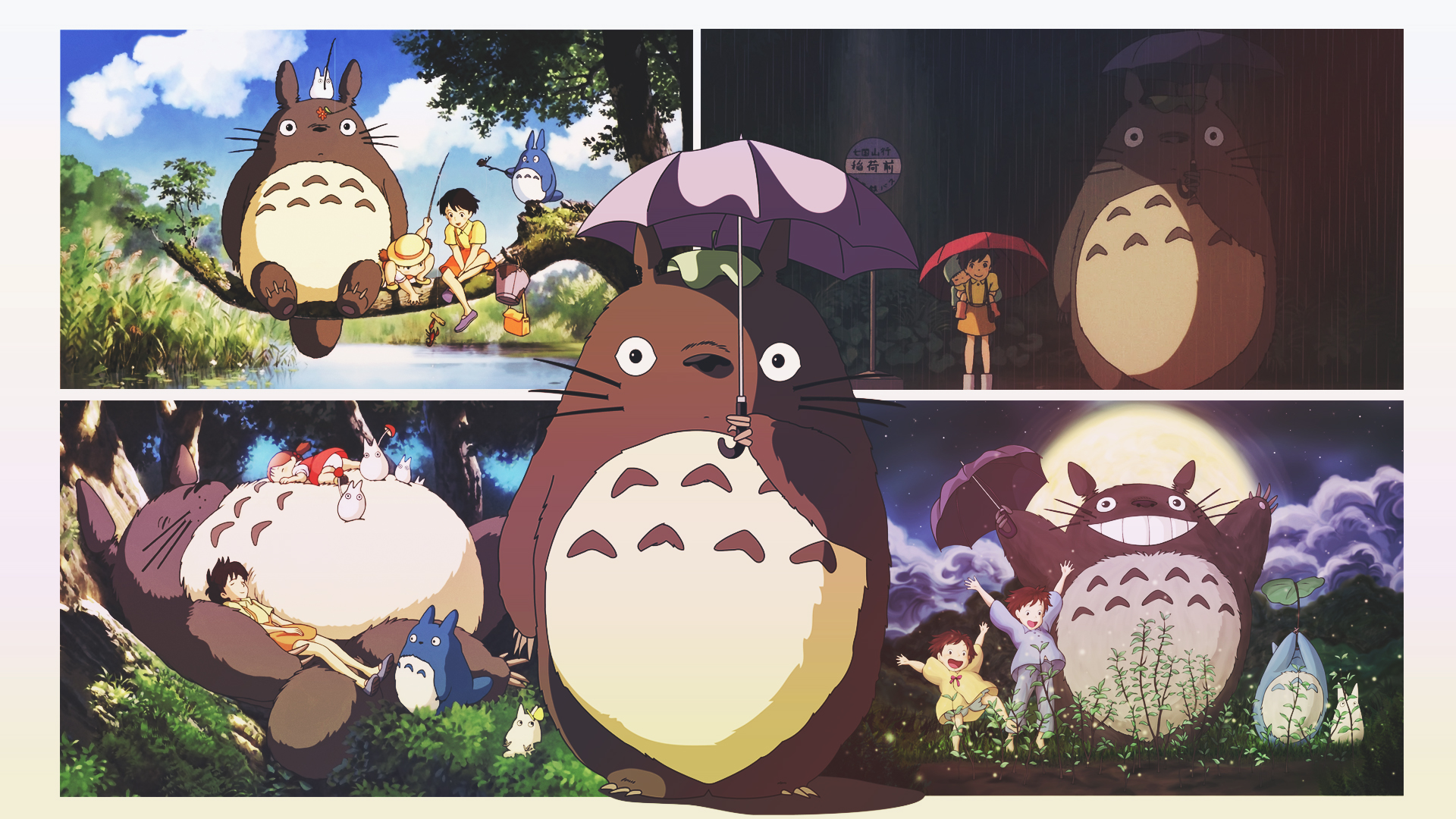 My Neighbor Totoro Backgrounds, Pictures, Images