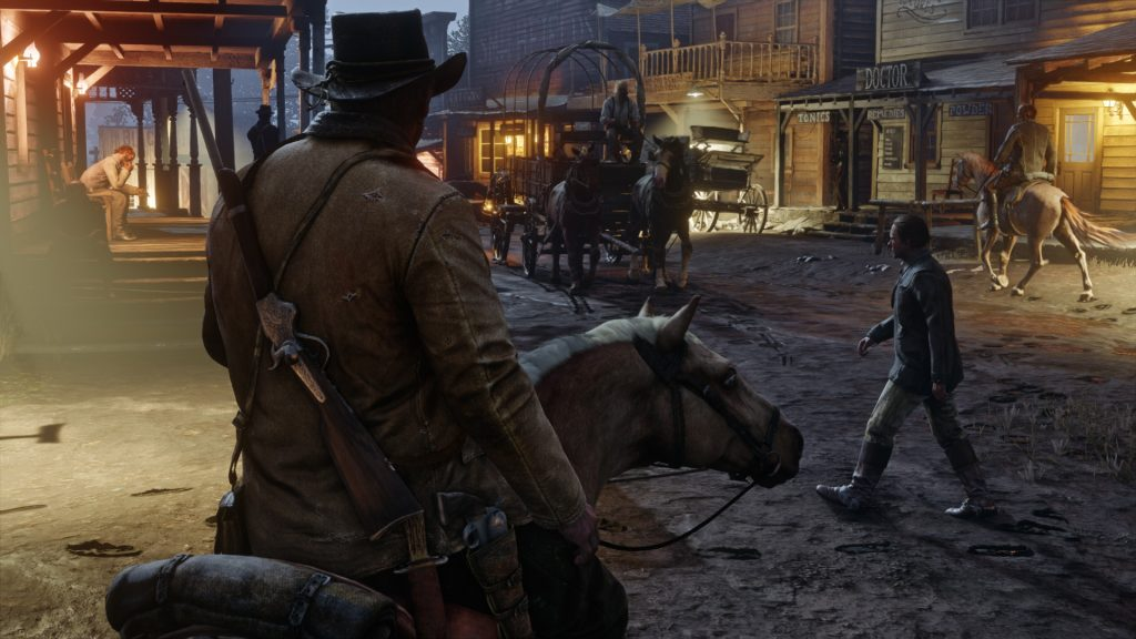 Red Dead Redemption 2 Full HD Wallpaper