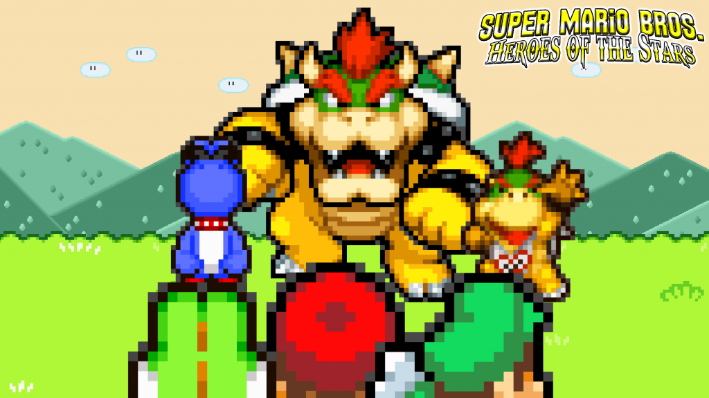 Super Mario Bros. HD Wallpaper