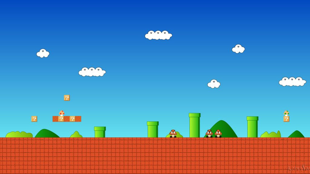 Super Mario Bros. HD Full HD Wallpaper