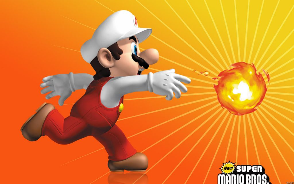 Super Mario Bros. HD Widescreen Wallpaper