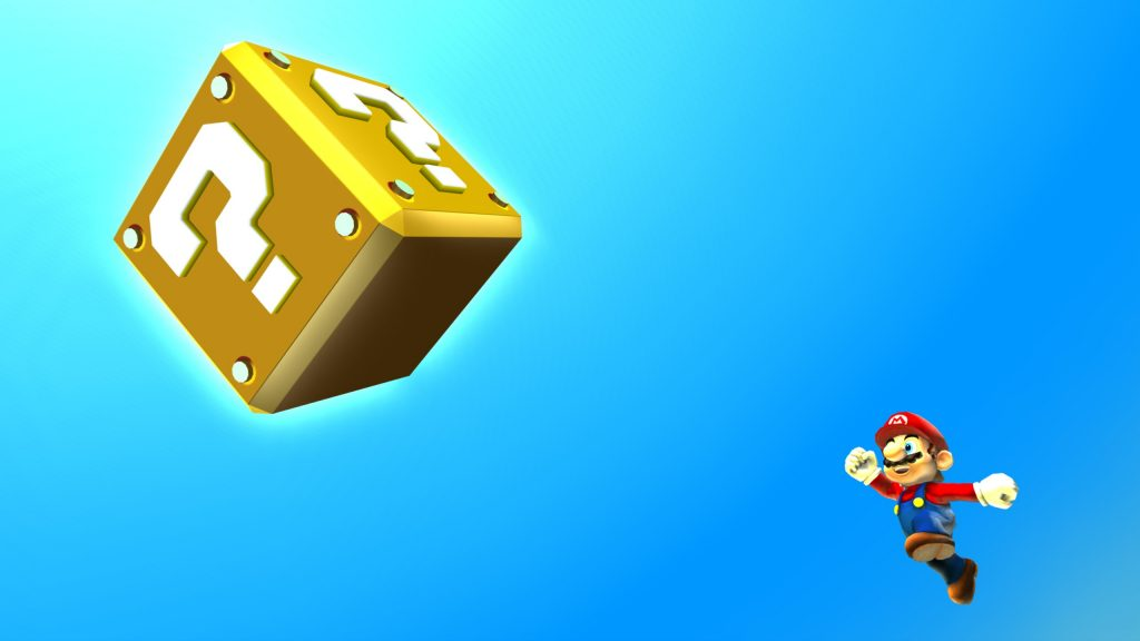 Super Mario Bros. HD Quad HD Wallpaper