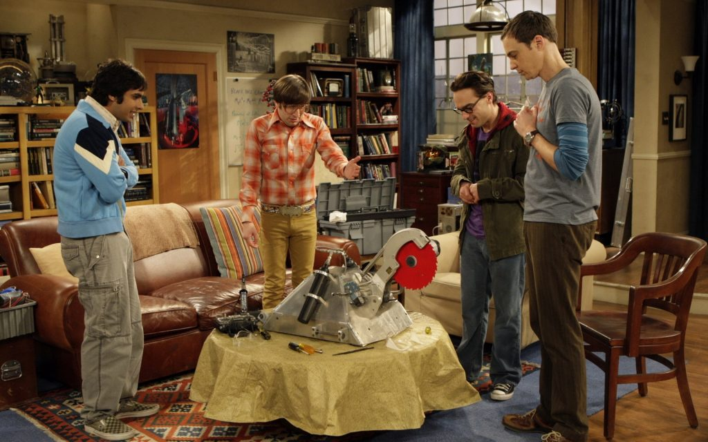 The Big Bang Theory HD Widescreen Background