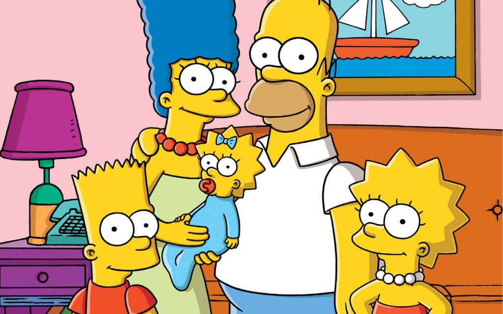 The Simpsons HD Widescreen Background