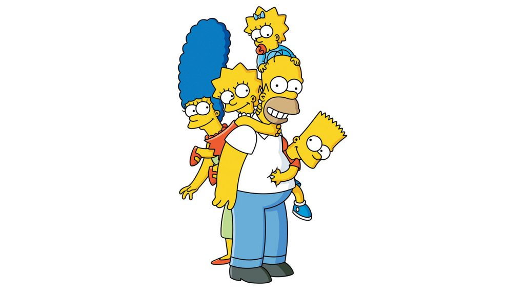 The Simpsons HD Full HD Background