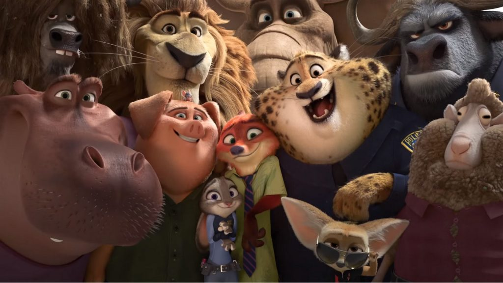 Zootopia Full HD Wallpaper