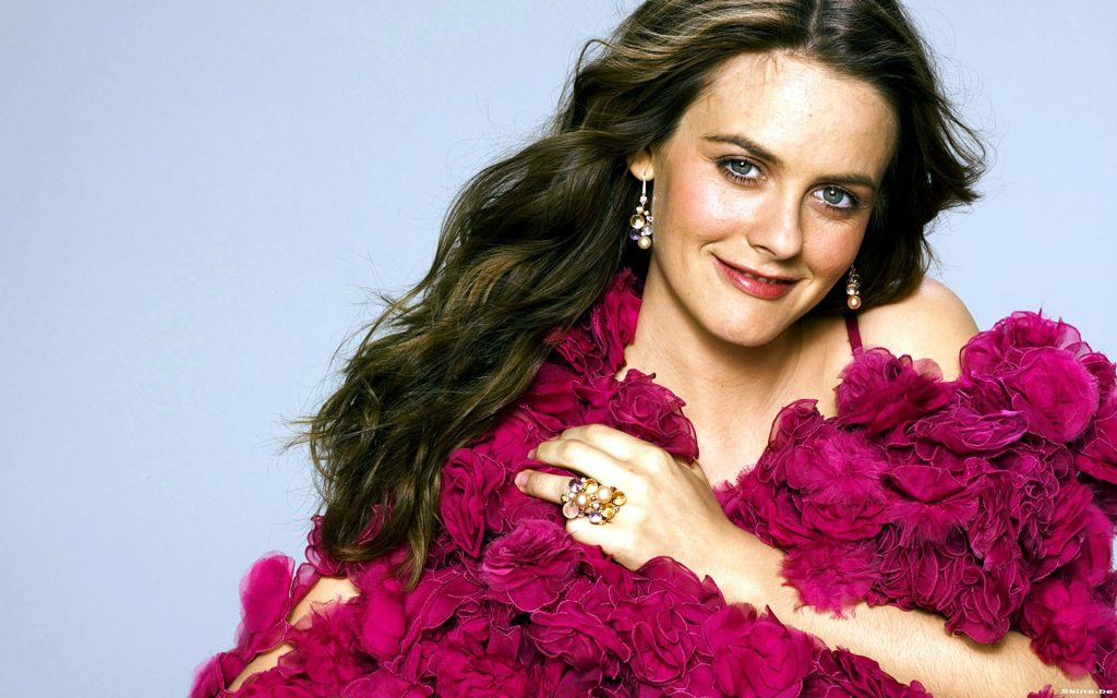 Alicia Silverstone Widescreen Wallpaper