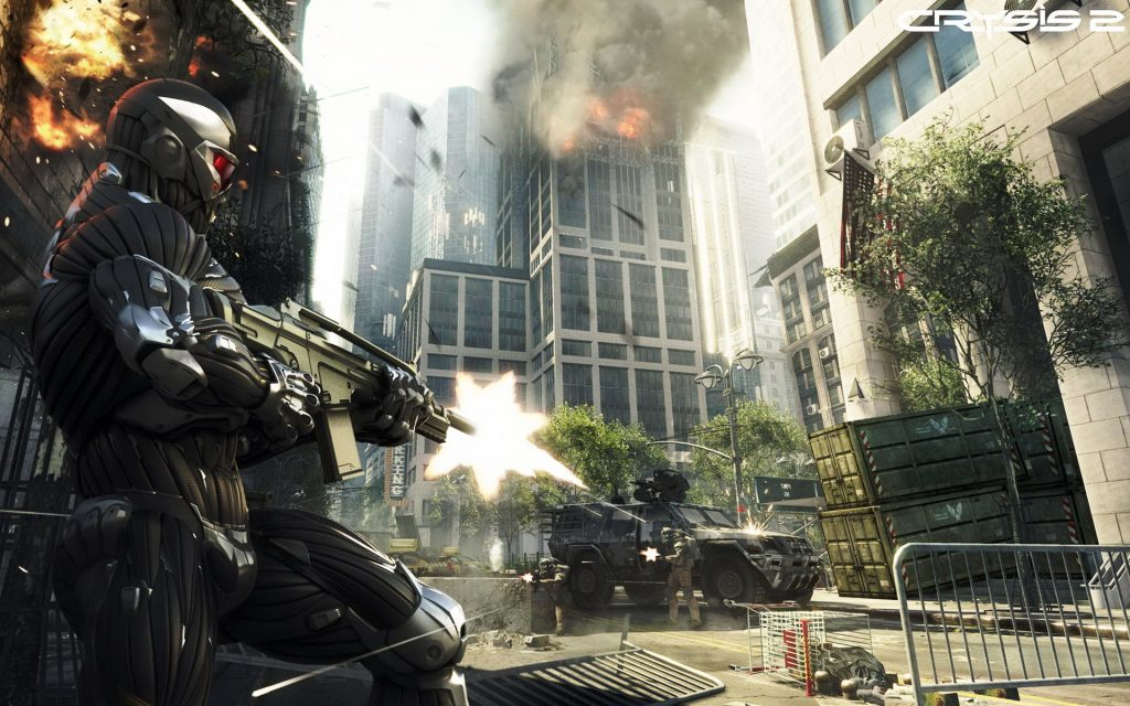 Crysis 2 Widescreen Background