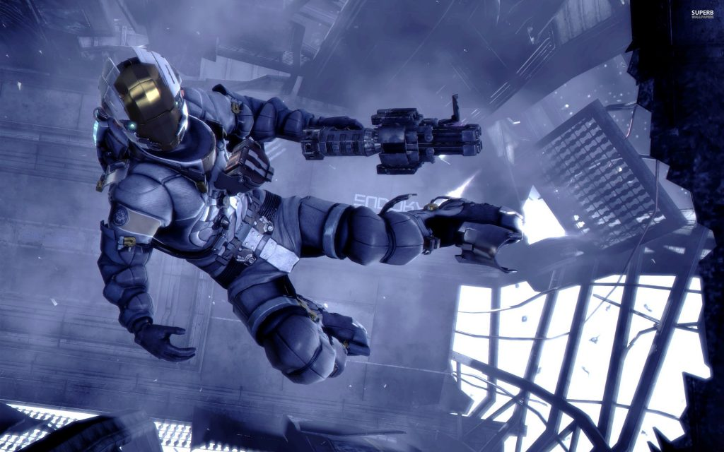 Dead Space 3 Widescreen Background