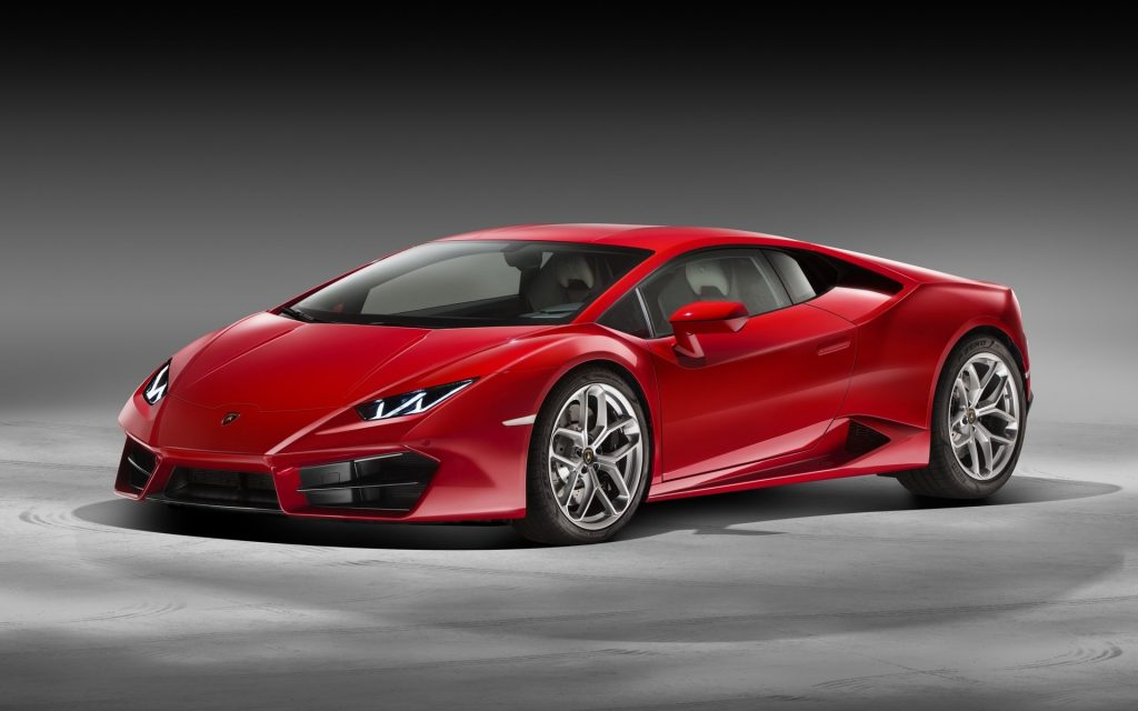 Lamborghini Huracan Widescreen Wallpaper