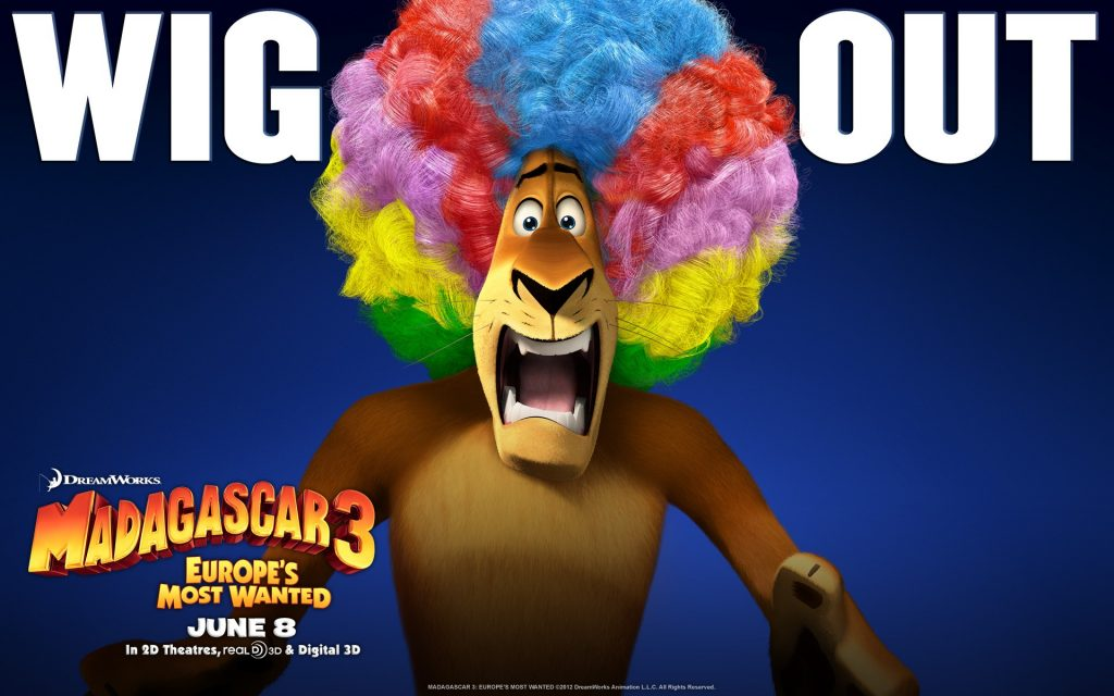 Madagascar 3: Europe's Most Wanted Widescreen Wallpaper