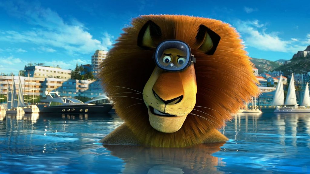 Madagascar 3: Europe's Most Wanted Quad HD Wallpaper