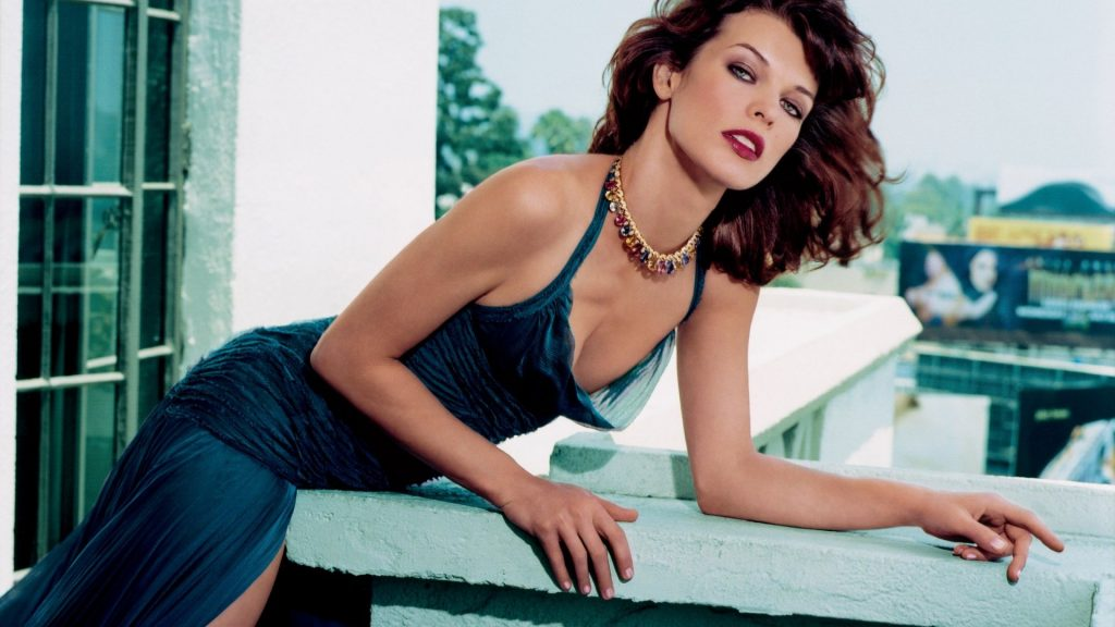 Milla Jovovich HD Full HD Background