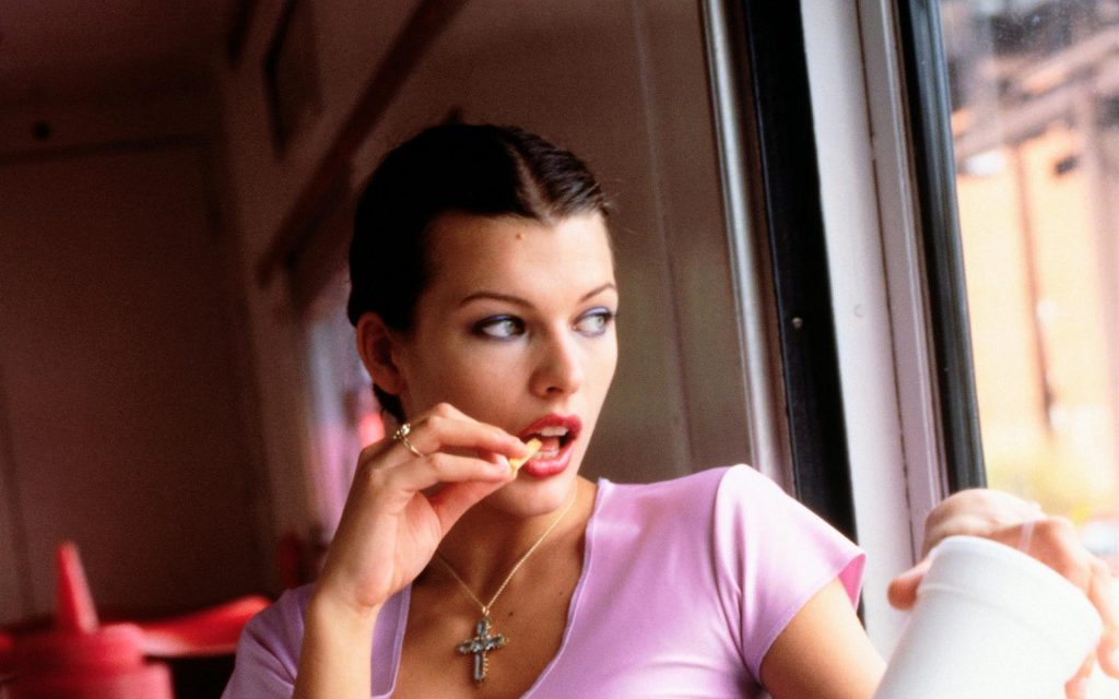 Milla Jovovich HD Widescreen Background