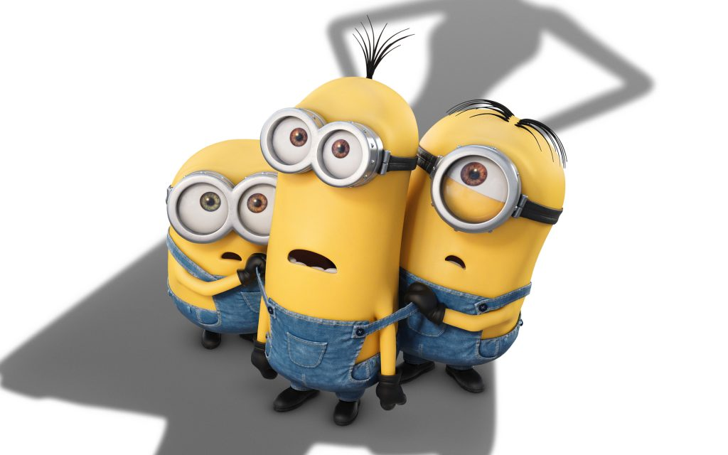 Minions HD Widescreen Wallpaper