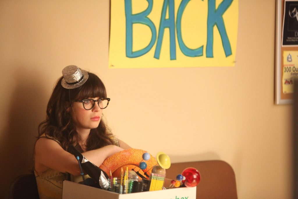 New Girl HD Background