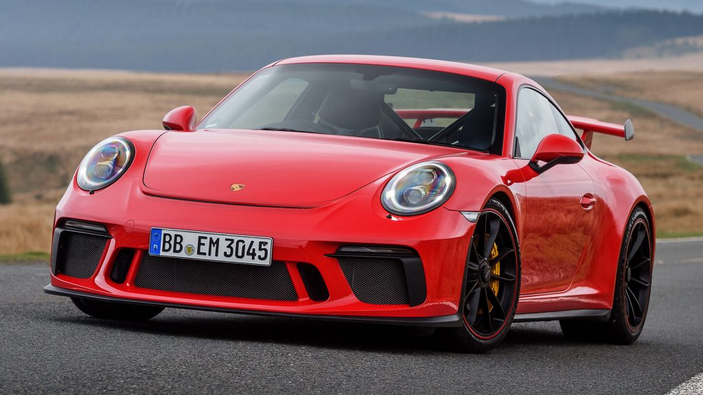 Porsche 911 GT3 Full HD Wallpaper