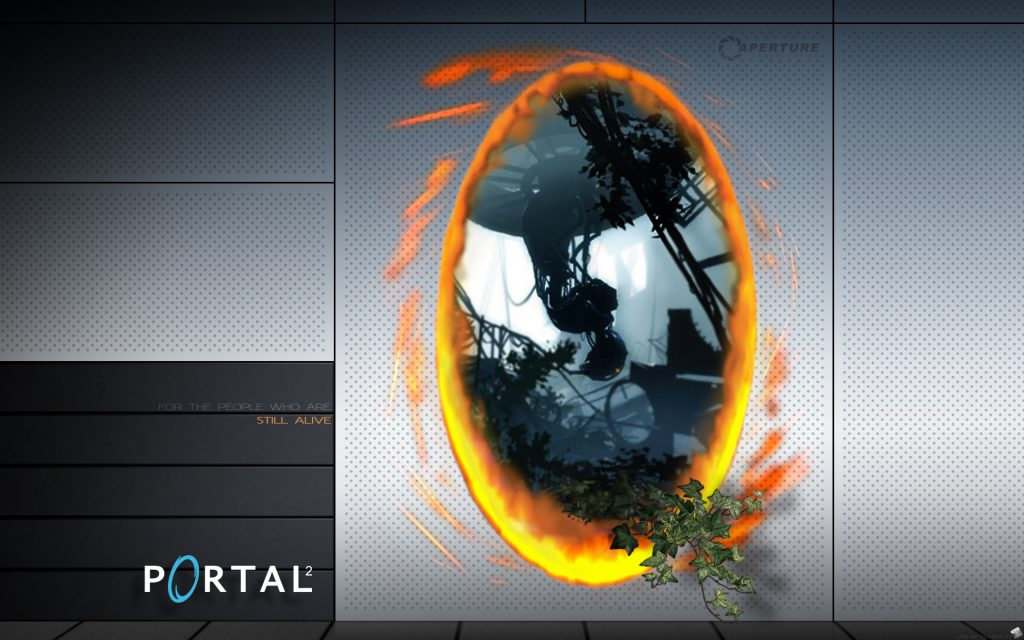 Portal 2 HD Widescreen Background