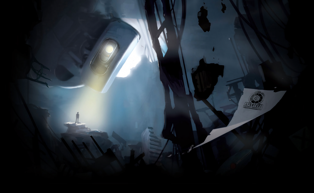Portal 2 HD Background
