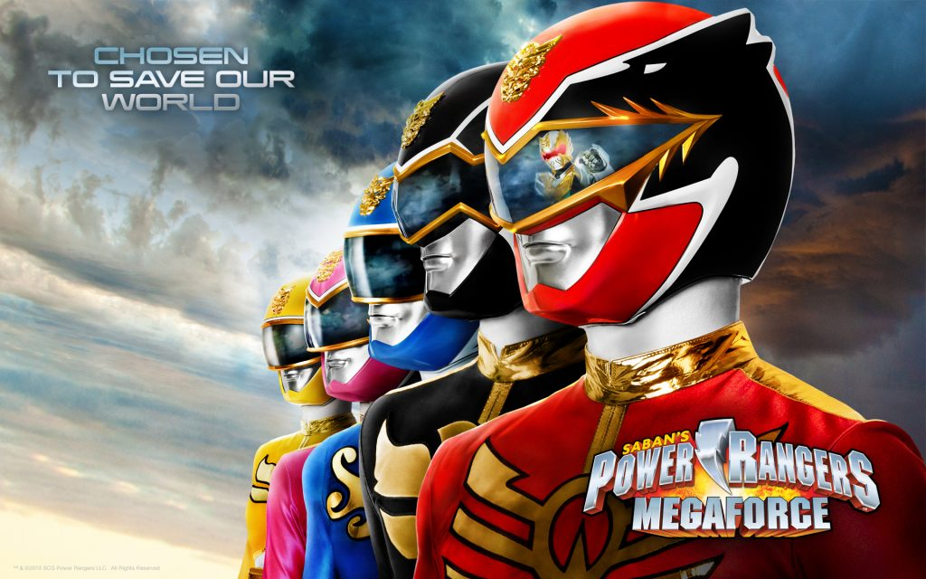Power Rangers Widescreen Wallpaper
