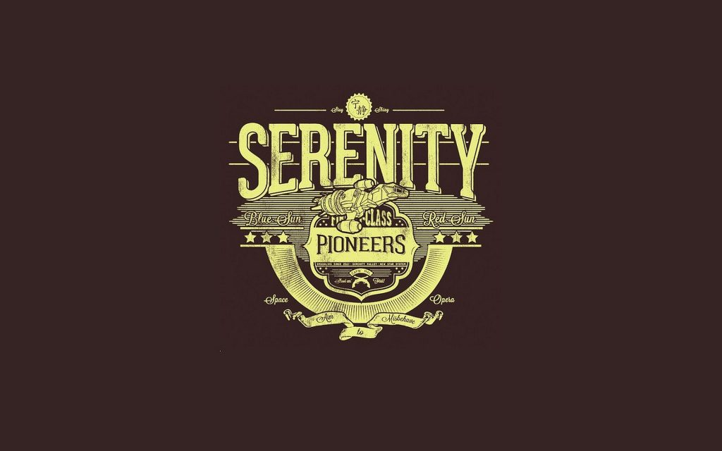 Serenity Widescreen Background