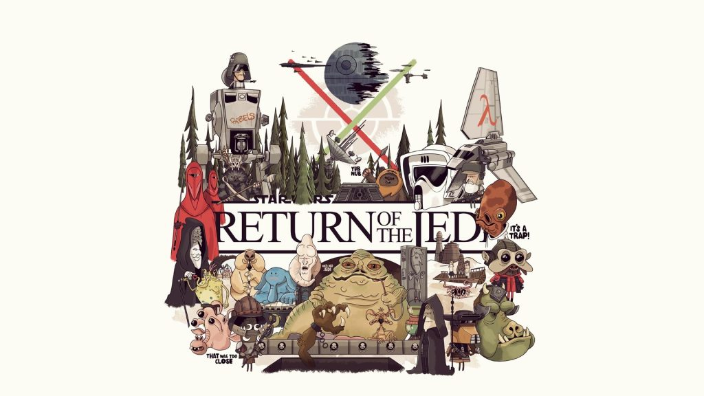 Star Wars Episode VI: Return Of The Jedi Full HD Wallpaper
