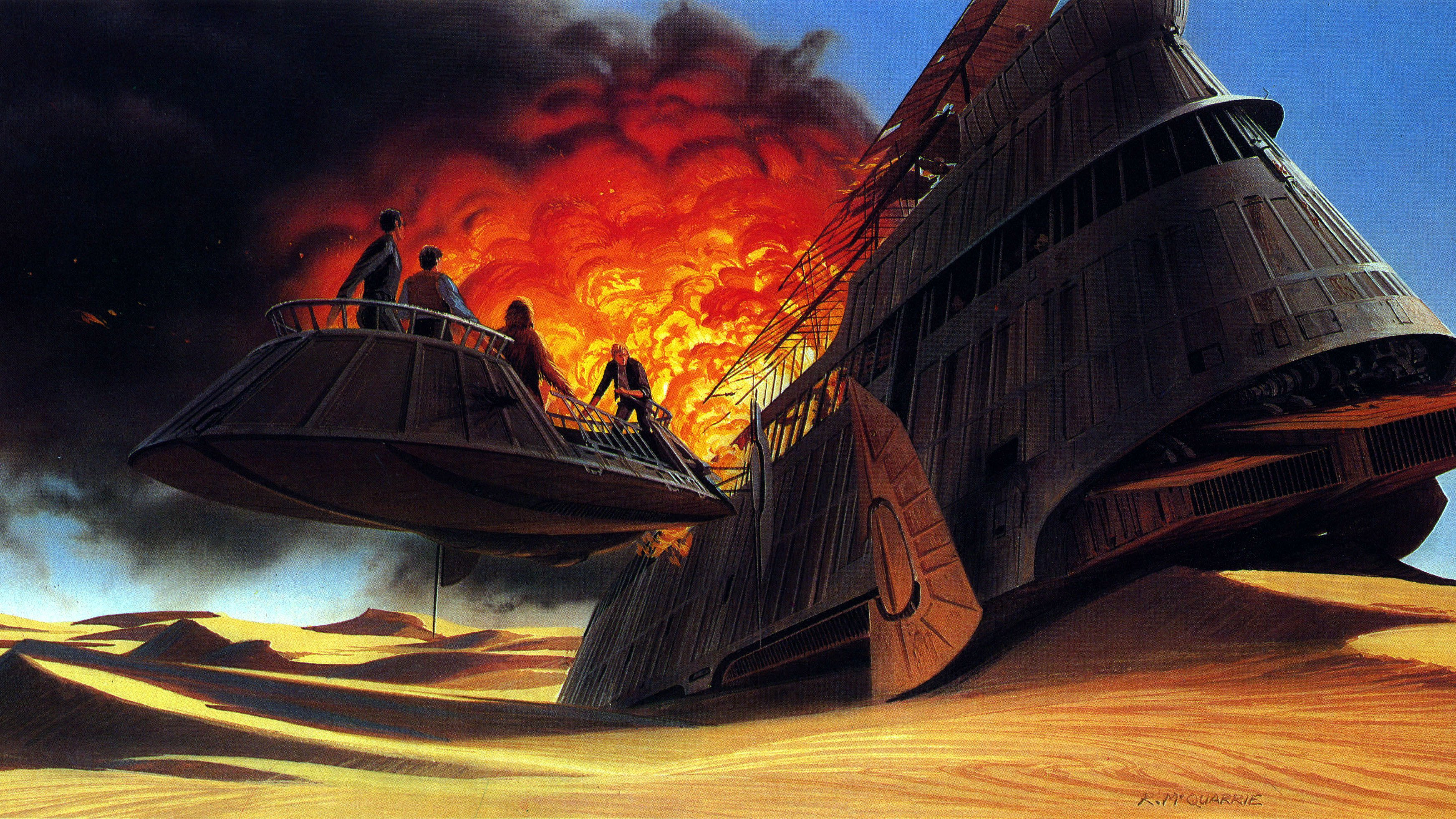Star Wars Episode VI: Return Of The Jedi Wallpapers