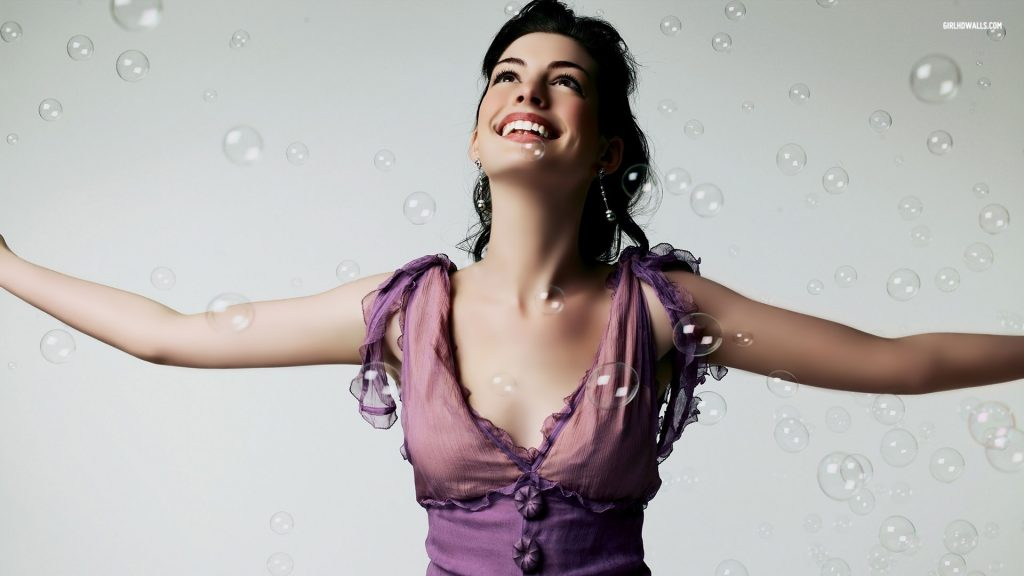 Anne Hathaway HD Full HD Background