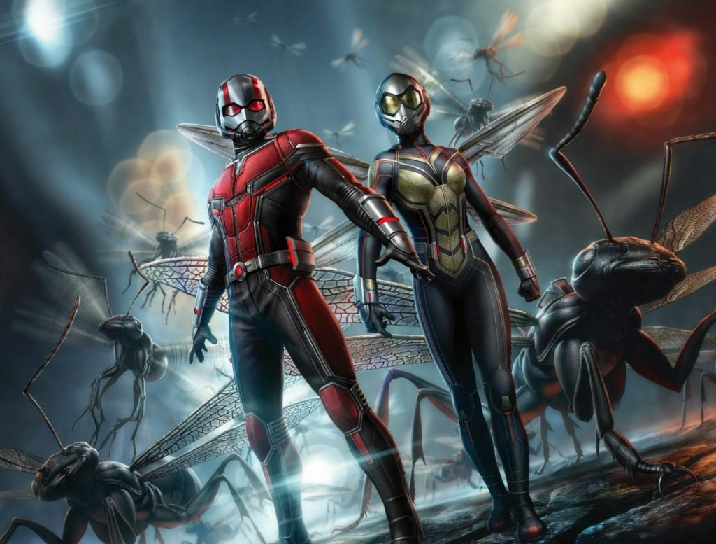 Ant Man And The Wasp Wallpaper: Ant-Man And The Wasp Wallpapers, Pictures, Images
