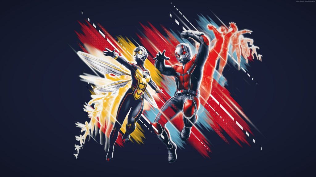 Ant-Man and the Wasp 4K UHD Wallpaper