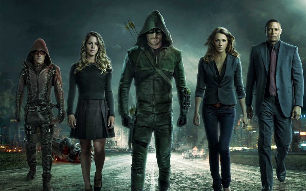 Arrow HD Widescreen Background