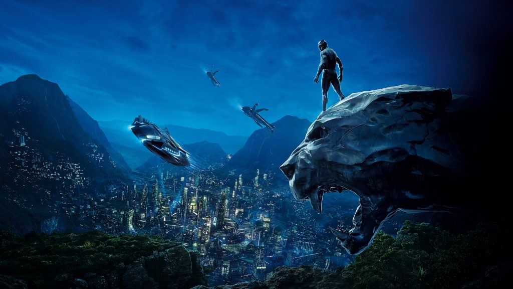 Black Panther HD 8K UHD Background